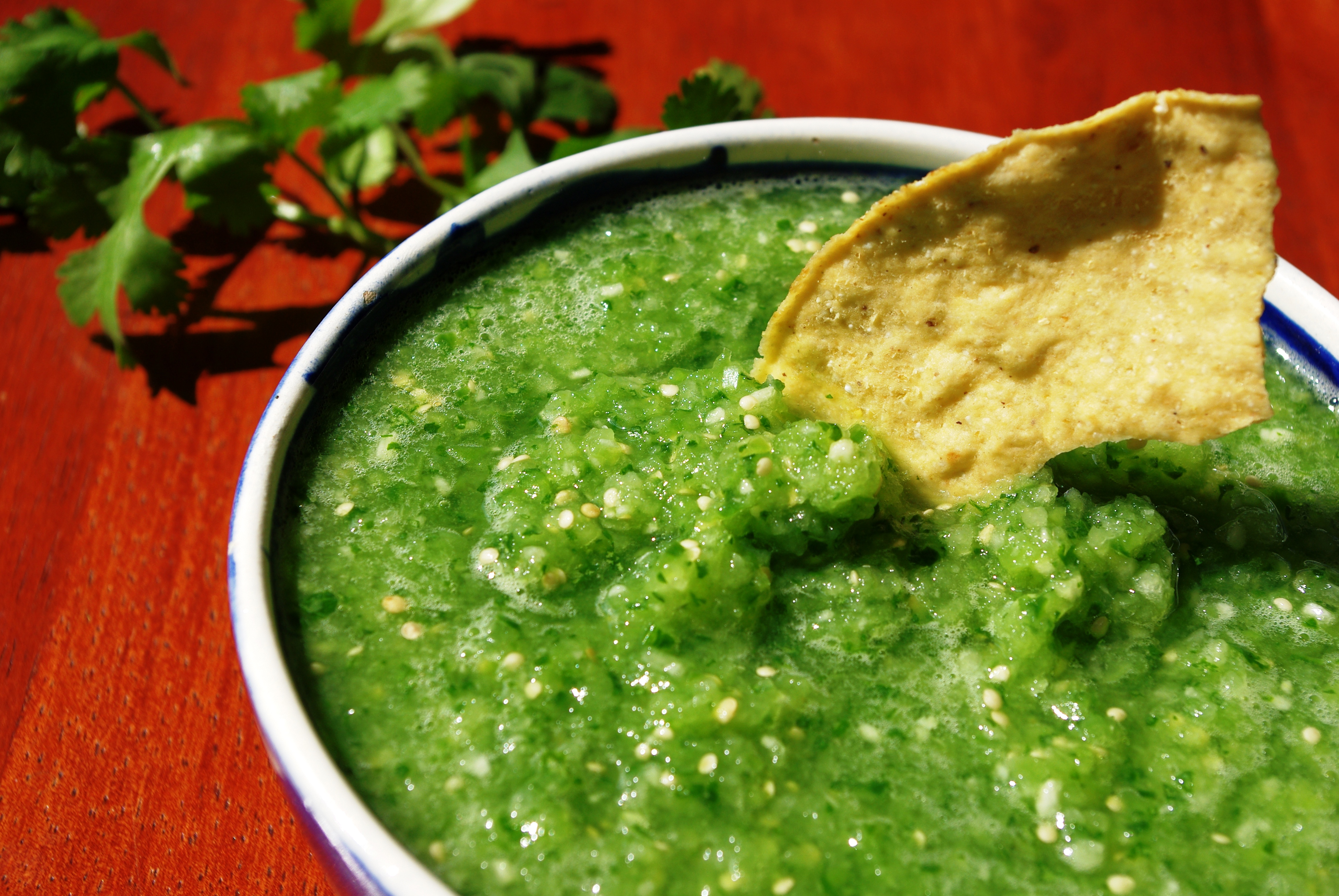 Salsa Verde Cruda « Three Points Kitchen