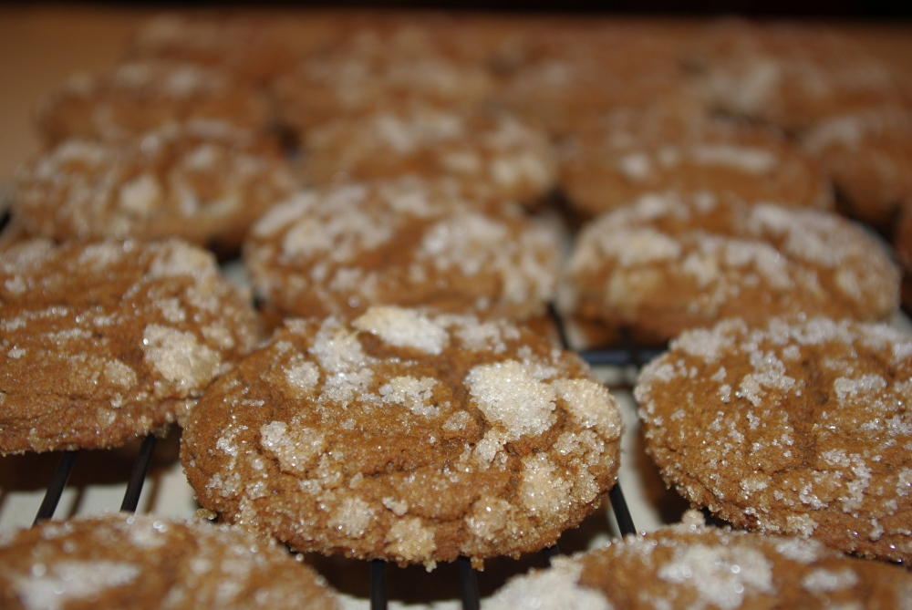 Ginger Lemon Snaps