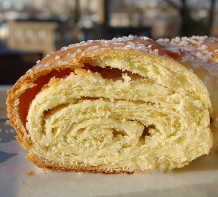 Rosca de Reyes - slice