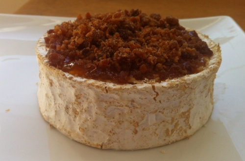 Warm Camembert wtih Bacon