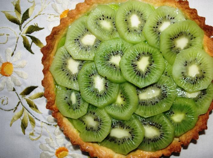 Kiwi Lime Tart